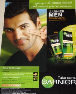 Indian fairness cream ad featuring John Abraham