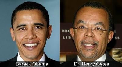 Barack Obama and Dr. Henry Louis Gates