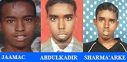 Three Somali boys killed