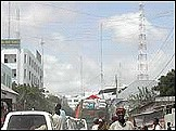 A Telecommunication Centre in Mogadishu