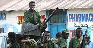 Ethiopian troops and militia loyal to the regime of the TFG
